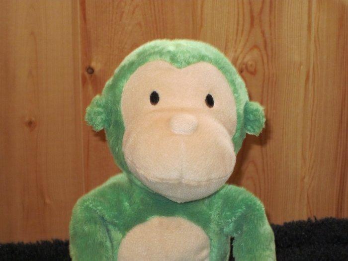 """Two Le Top Plush Green Monkeys 22 """""""