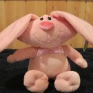 Chirisha Playful Plush Pink Bunny rabbit Oval head