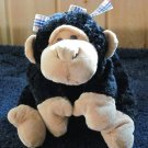 Mary Meyer Flip Flops Black Plush Monkey
