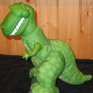 Fisher Price DinoRoar Toy Story Plush T-Rex Dinosaur named Rex # T2406 Roars when squeezed