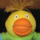 "9"" Latitude Yellow Knit Duck Baby Plush Named Augustin"