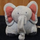 Pottery Barn Kids Plush Blue Elephant Musical Crib toy Lovey