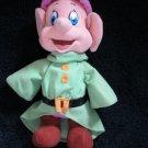 Disney Dopey Dwarf From Snow White Plush with green jacket