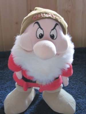 Disney Store Grumpy 11&quot; Dwarf from Snow White