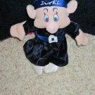Dopey Dwarf in blue velour from Disney Snow White
