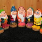 Disney Dwarf Figures from Snow White Doc Dopey Grumpy Happy Bashful Sneezy Sleepy