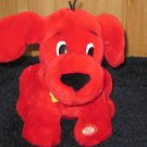 Scholastic Clifford the Big Red Dog Plush Barking, panting and ears move