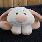 Goffa Baby Plush Puppy dog Rattle Toy with My first friend on its tush