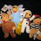 Disney Store from Winnie the Pooh Costumed Pooh Lot of Four
