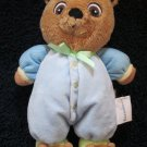 Garanimals by Prestige Toy Co Plush Blue Bear Doll with Bear Slippers