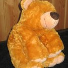 KellyToy Floppy style golden brown Bear