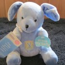 Carters Cuddle Friends Activity Toy Talking Poem Plush Blue Puppy