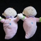 Two Manhattan Lil' Peanut plush dolls