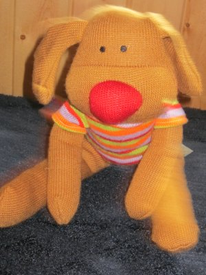 DanDee Collectors Choice Sock or Knit puppy Dog