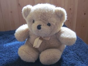 Vintage Tomfoolery Tan Minkplush Teddy Bear from Australia