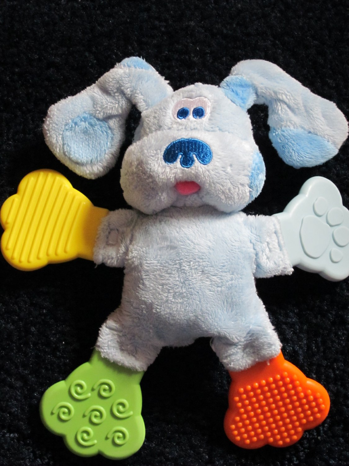 Blues Clues Plush Teether Toy With Textures