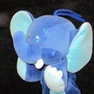 Dakin Blue Plush Elephant Musical Crib Toy