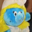 Wallace Berrie Peyo Plush Smurfette 1981