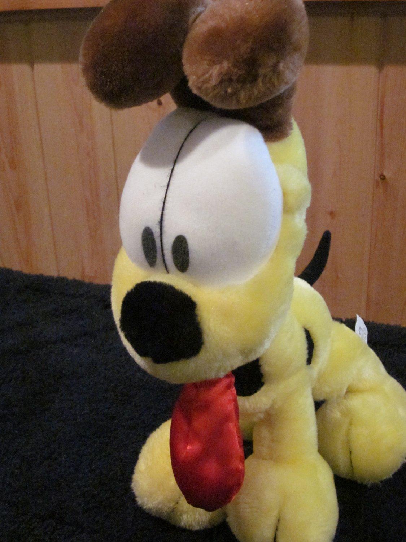 "From Garfield 12""x9"" Plush Odie dog"