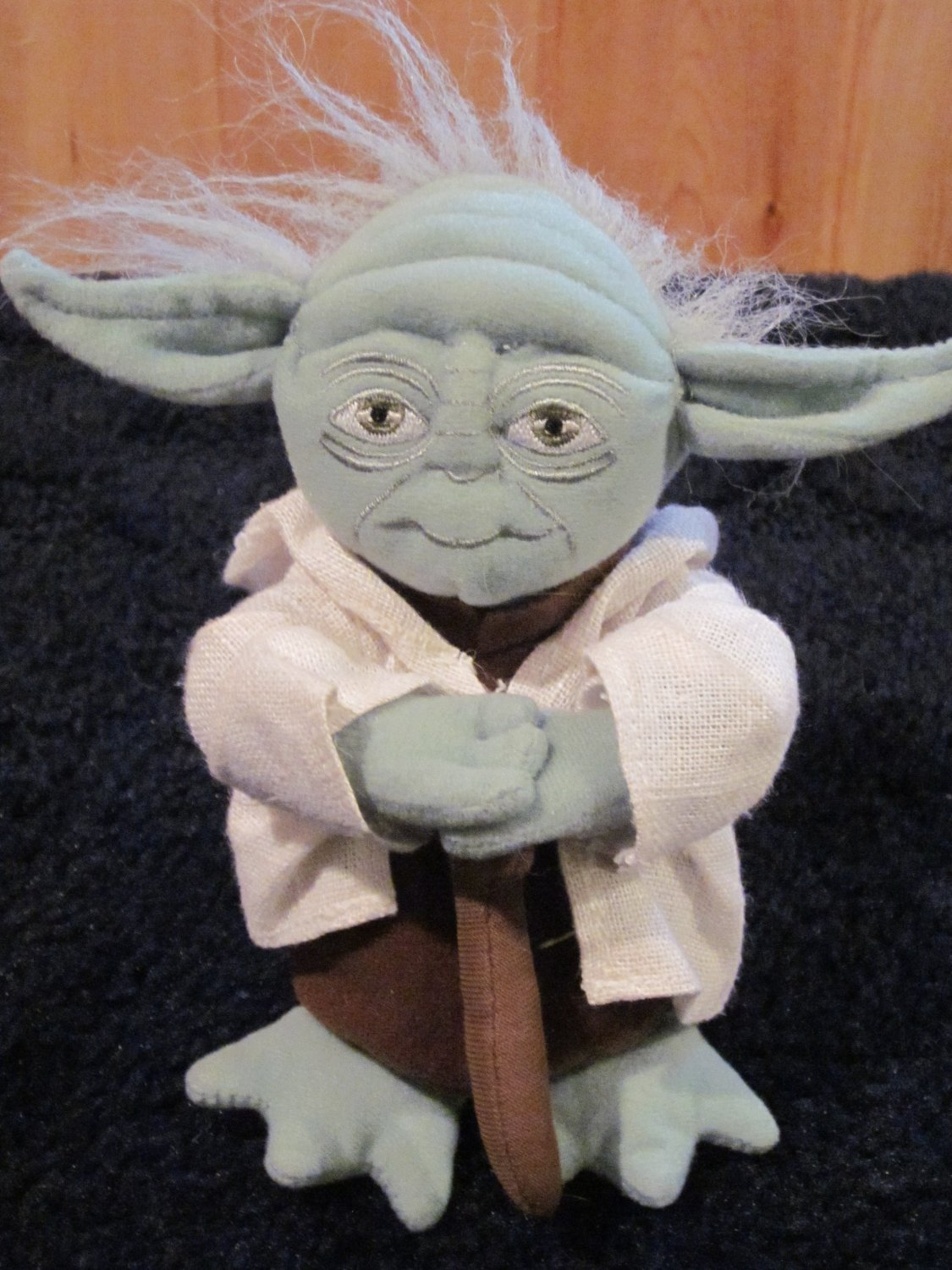 Star Wars Plush Yoda Bean filled Doll Hasbro toy