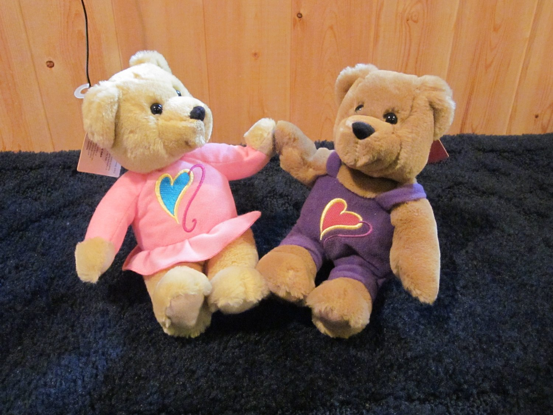 Hallmark Love & kiss Kiss Bears Plush toys