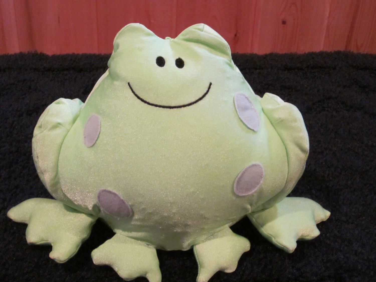 """Commonwealth Marsh A Mellows Plush Green Frog 6"""""""