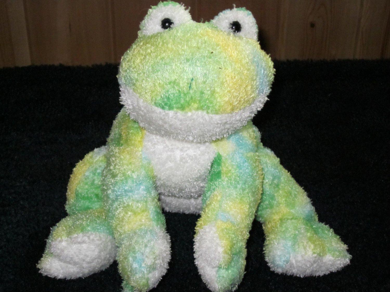 Ty Beanie Buddy Buddies Frog named Webley looks Tie Dyed