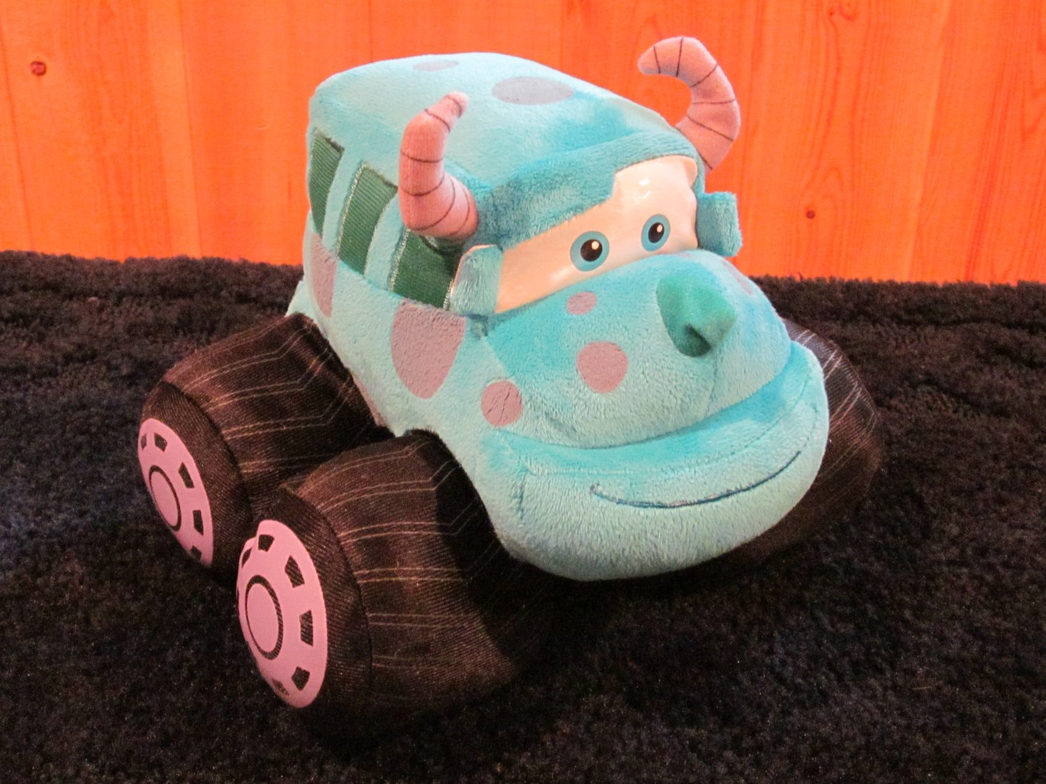 Disney Pixar Plush Monsters Inc Sulley Car Sully