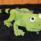 Webkinz Green Iguana Green Lizard with striped tail No Code