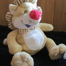 Luv 'n Care Tickle Toes Plush Lion with Red Nose