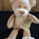 Animal Adventure Organic Beginnings Tan Teddy Bear Lovey