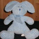 Stephan Baby Blue Plush Bunny Rabbit