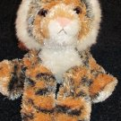 Aurora Plush Orange and black striped super soft Tiger