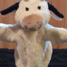 Gund Milkshake Cow hand puppet #60152 Plush Toy