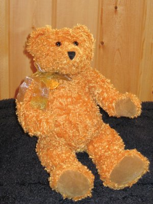 Ty Classic Teddybearsary Plush Bear 100 Year Gold Coin