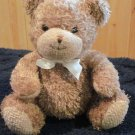 Prestige Brown Teddy Bear Lovey 8 inch Plush Rattle