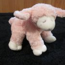 Baby Gund Pink Winky Lamb Plush Rattle Toy 58077
