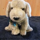 Ty Classic Plush Grey Dog Named Tanner Plush Toy