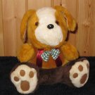 Dreamland Toys Plush Puppy dog Brown gold white