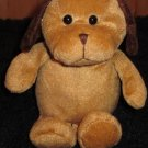 Best Made Brown Plush Puppy Dog with dark brown ears