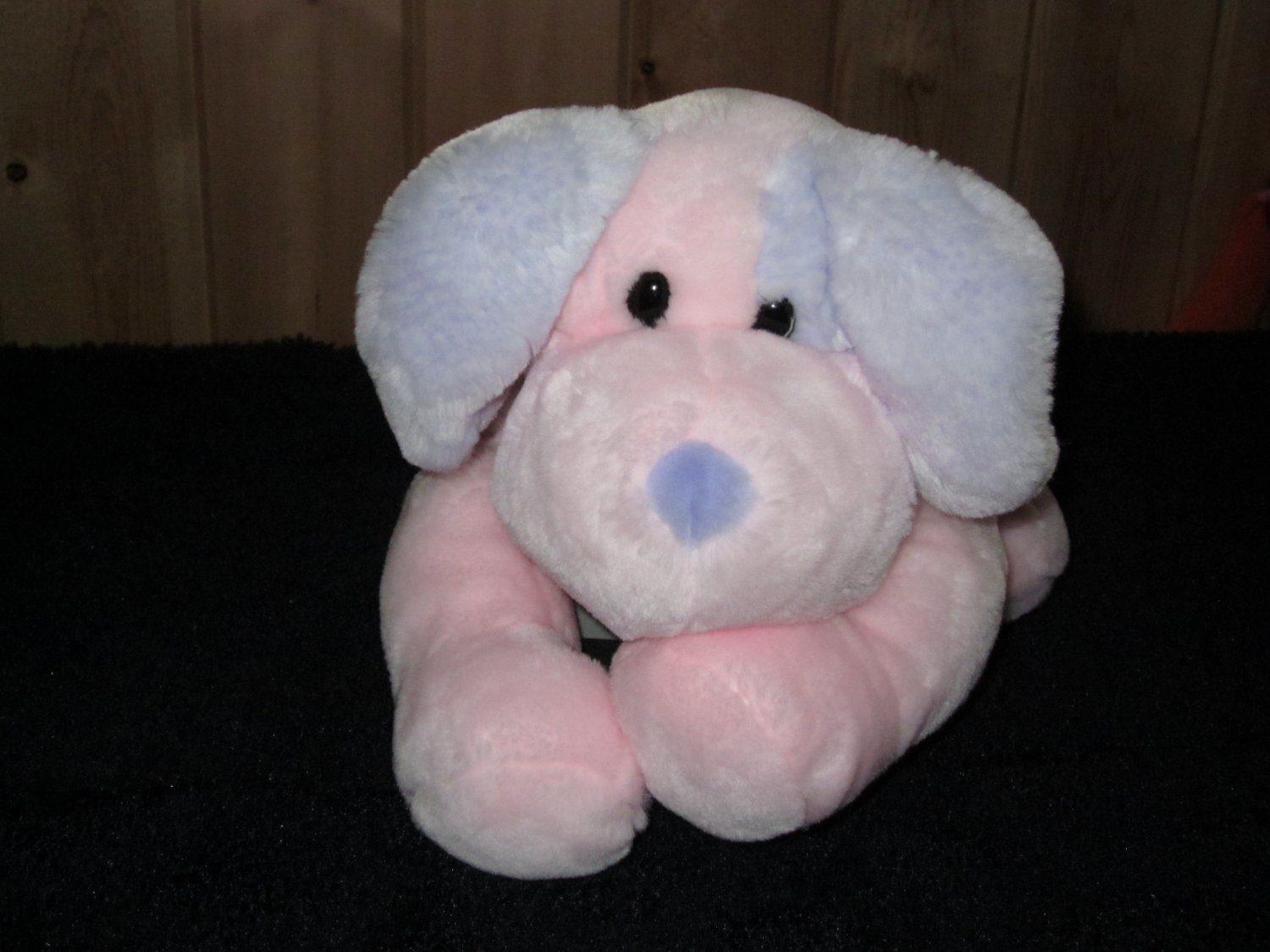 Animal Alley Plush Puppy Dog Gorgeous Pink and Blue