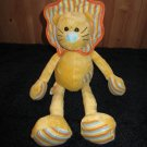 Baby Ganz Long legged Lion plush Rattle Toy Lovey