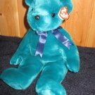 TY Beanie Buddy Buddies named Teddy Green 15""