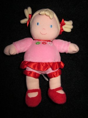Just One You Blonde Plush Doll with flowers