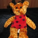 Toy Barn Teddy Bear Dressed as a LadyBug
