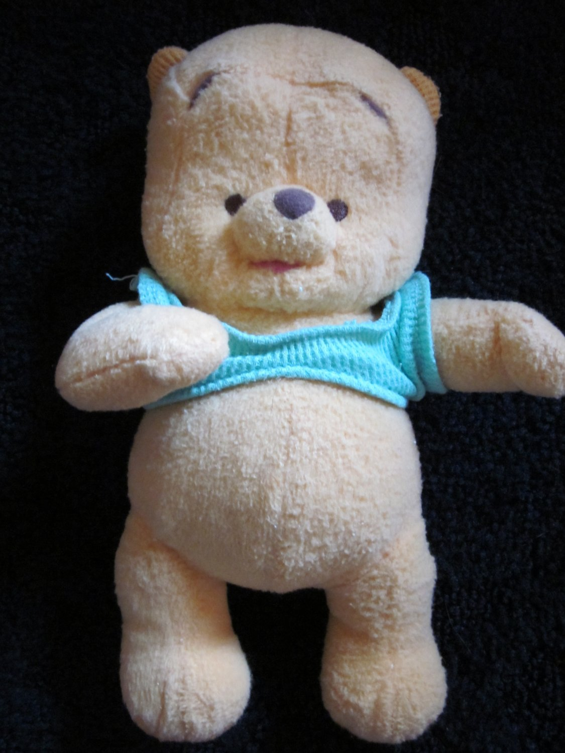 ce74fcd51377 Fisher Price Baby Pooh Plush Bear and Classic Pooh Rattle