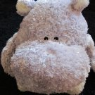 Baby Boyds Plush Hippo Rattle from 2003