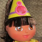Fisher Price Princess Dora the Explorer Doll Sings Talks and has Magic Hair
