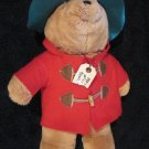 Plush Sears Paddington Bear from 1994 Christmas Bear 12""