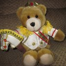 Nutcracker Bear Christmas Teddy Bear Plush Toy in majorette uniform